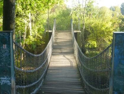Kettenbrücke am Scherbelberg