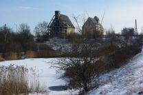 Der Elster-Saale-Kanal führt an den Schönauer Lachen vorbei