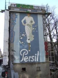 Persil-Werbung in der Zschocherschen Straße