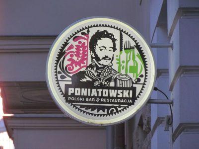 """Gaststätte """"Poniatowski"""" in der Kreuzstraße"""
