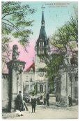 Historische Postkarte: Schloss