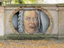 Bach en la calle Käthe-Kollwitz-Straße