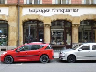 Antiquariat in der Ritterstraße