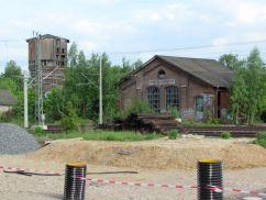 Am Bahnhof Leutzsch
