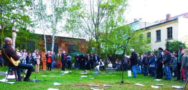 Vernissage im Mischhausgarten