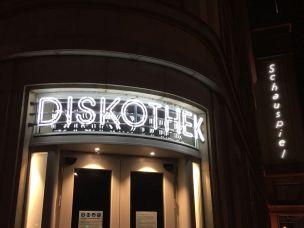 Schauhaus-Diskothek Ende 2020