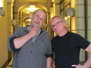 Henner Kotte und Uwe Steimle