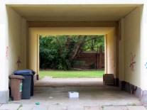 Zugang zum Albertgarten