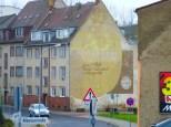 Brühlpelz-Werbung in Schkeuditz
