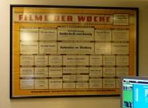Kinoplakat von 1956 im Passage-Kino