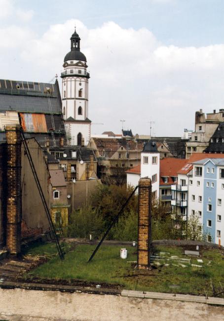 Blick zur Thomaskirche, 1998