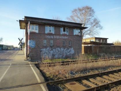 Am Bahnhof Großzschocher