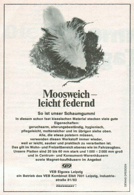 VEB Elguwa Leipzig, 1974