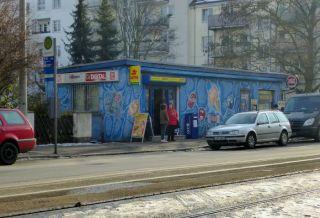 Kiosk in der Virchowstraße