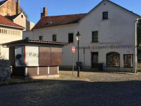 Ehem. Zeitungskiosk in Naumburg, 2019