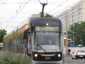Relativ neue Bahn am Bayrischen Platz