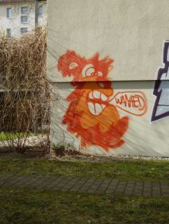 Paul-Gruner-Straße (is' gar kein Löwe, is' Monkey)