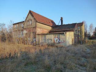 Empfangsgebäude Bf. Wahren
