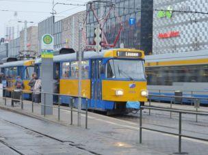 Relativ alte Bahn am Brühl