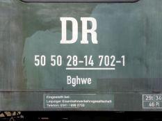 DR = Deutsche Reichsbahn