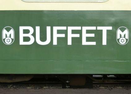Buffet auf Rädern