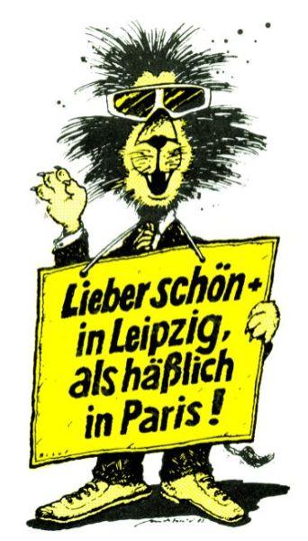 Löwe von Ulrich Forchner und Bernd-Lutz Lange