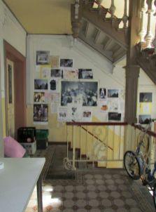 Treppenhaus am ehemaligen Kaffee Schwarz