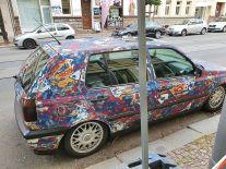 Rattengolf in der Gorkistraße (Foto: Ralph)
