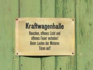 Kraftwagenhalle, gesehen in Ilfeld