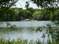 Blick zum Haus am See