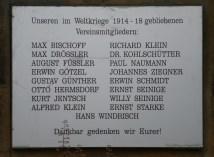 Denkmal im Gartenverein Schreber-Hauschild