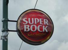 Super-Bock-Werbung am Rosen-Stübl