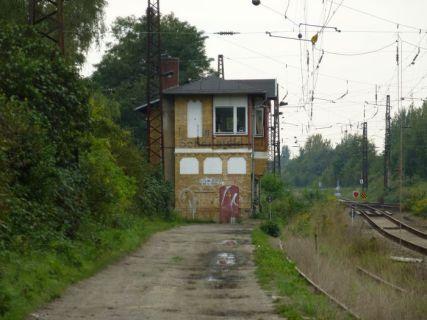 Am Bahnhof Schönefeld
