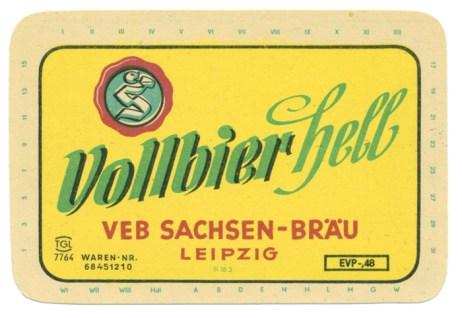 Sachsen-Bräu Vollbier Hell