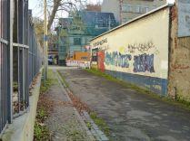 In der Winkelstraße (Blick zur Menckestraße)