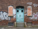 Zugemauerte Fenster in Leutzsch