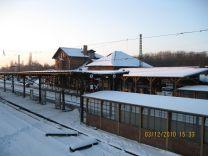 Bf. Leutzsch im Dezember 2010