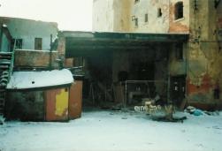 Alte Brauerei, Prager Straße, Februar 1996