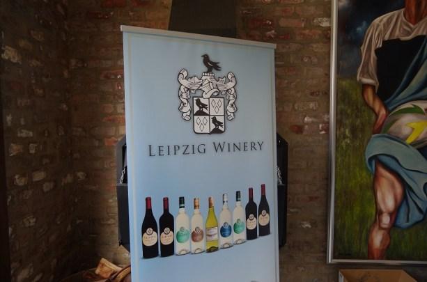 Leipzig Winery mit Rabe im Wappen