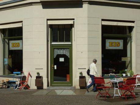 Eisladen in der Kochstraße