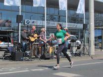 Band in der Richard-Lehmann-Straße