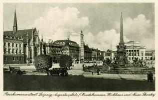 Augustusplatz in den 1930ern