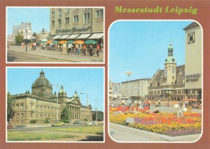 Messestadt Leipzig (Fotos: Wolf)