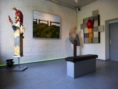 Streichhölzer in der Galerie Atelier Nord