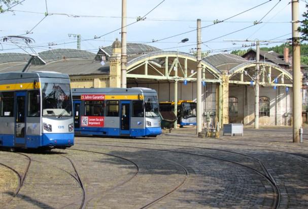 Straßenbahnhof Leutzsch