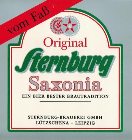 Sternburg Saxonia, 1990er Jahre (noch aus Lützschena)