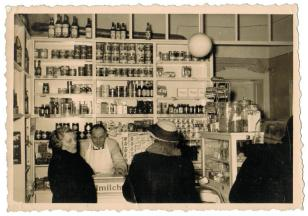 Objekt 7: Lebensmittelladen, 1953