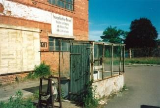 Feuergefährdeter Betrieb (Furnierwerk Böhlitz-Ehrenberg)
