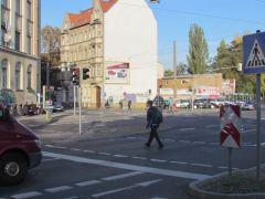 Kreuzung von Lützner und Zschocherscher Straße