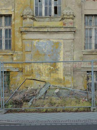 Zugemauerter Eingang